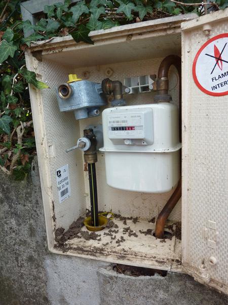 Francheville un chantier de s chage des canalisations de gaz naturel - Installation compteur gaz ...